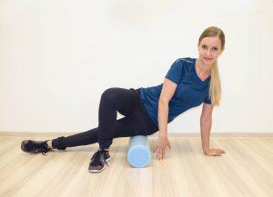 Rolowanie mięśni rozluźnia je i zmniejsza ból