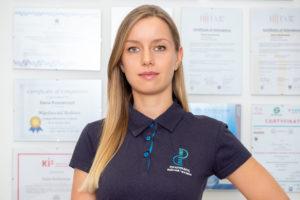 Rehabilitant Daria Maćkowiak